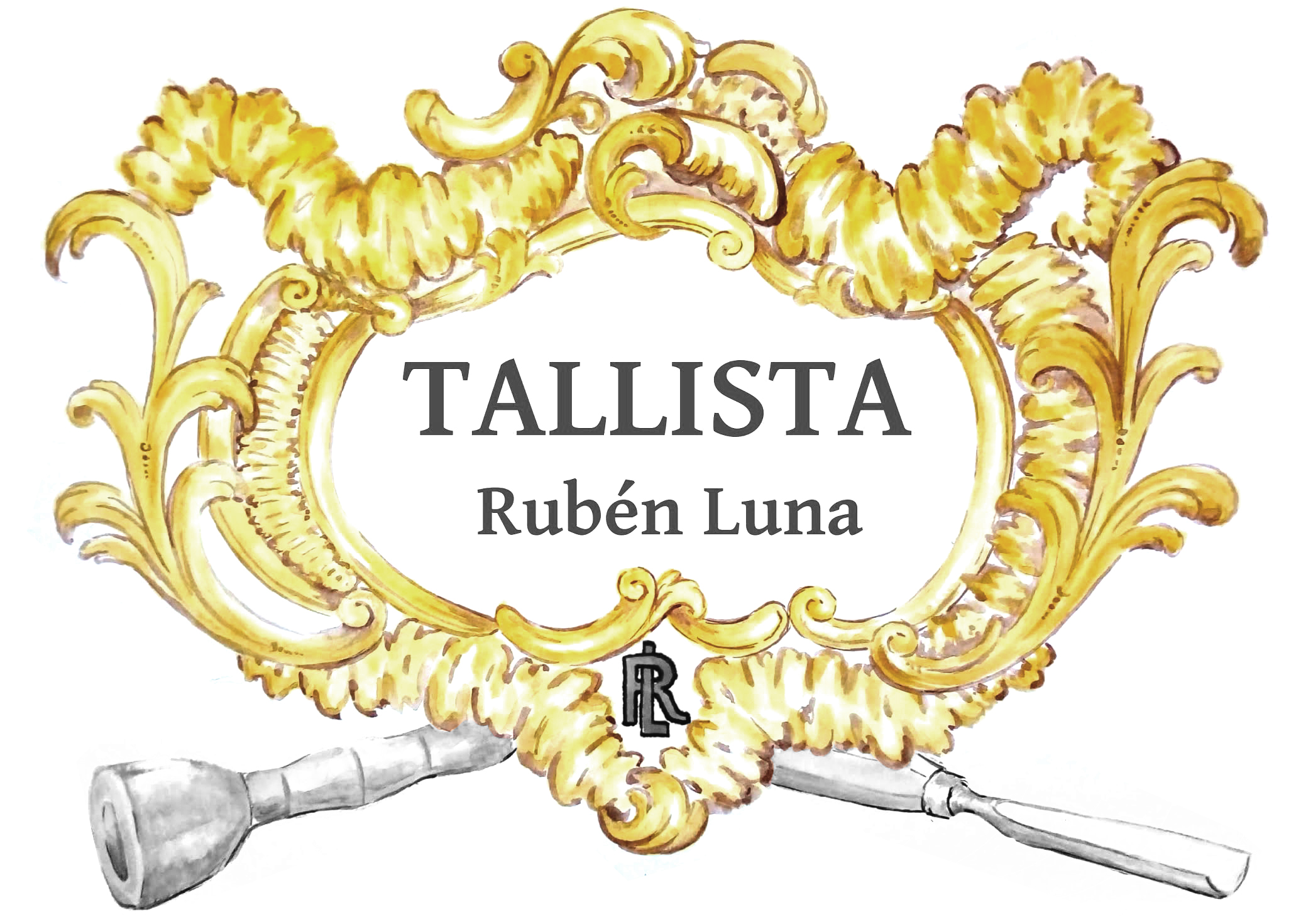 Logo Tallista Rubén Luna
